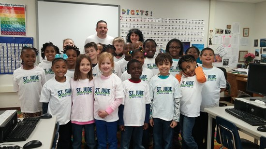 Rowland 2nd Graders Participate in Mathathon
