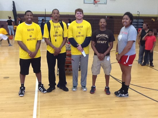 Brush Hosts Youth Basketball Camp