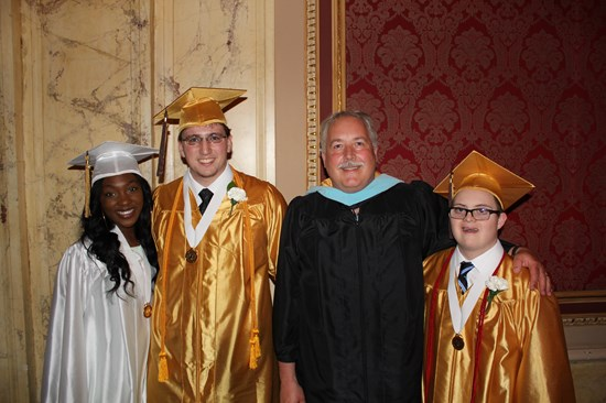 Class of 2015 Honored at Commencement Ceremony