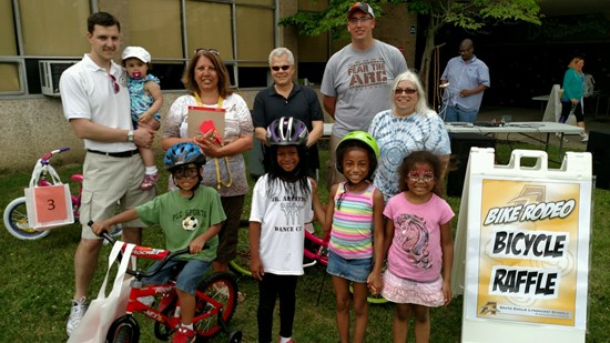 Wonderful Turnout at This Past Weekend's Bike Rodeo