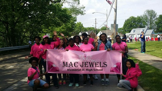 MAC Jewels Participate in Memorial Day Parade