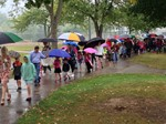 Sunview Students and Parents Celebrate National Walk to School Day image