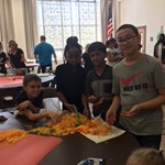 Greenview Students Have Fun Participating in 'Pumpkin Math' Activity image