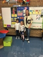 Fiftieth Day of School Prompts Activities from the 1950s Throughout Sunview Elementary School image