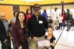 Rowland Elementary Honors Veterans with Special Program image