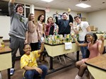 Brush National Honor Society Wraps Up Successful Food Drive image