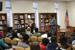 8th Graders Discuss Constitutional Rights with Juvenile Court Magistrates image