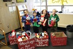 Sunview Staff and Students Participate in Stockings for Soldiers Campaign image