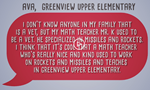 Greenview 4th Grader's Interview with Mr. Kijinski Posted on IdeaStream Link  image