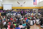 Brush Show Choir Performs at District Elementary Schools image
