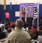 Greenview Elementary Honors Black History Month image