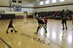 Third Quarter PBIS Event Features Staff vs. Students Basketball Game image
