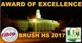 "Brush awarded the OIAAA/OHSAA ""AWARD OF EXCELLENCE"" image"