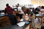 Ursuline College Visits Memorial for DNA Day Activity with 8th Grade Students image