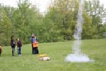 Greenview Upper Elementary Fourth Graders Hold Rocket Launch image