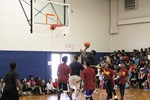 Greenview Students and Staff Compete in Basketball Game image