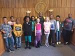 Sunview MAC Ambassadors Visit South Euclid Municipal Court image