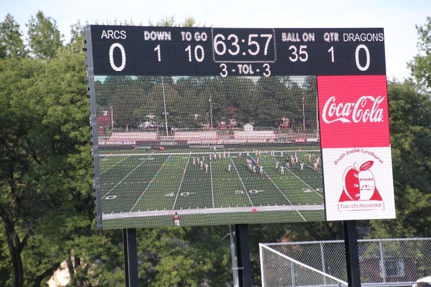 Korb Field Scoreboard