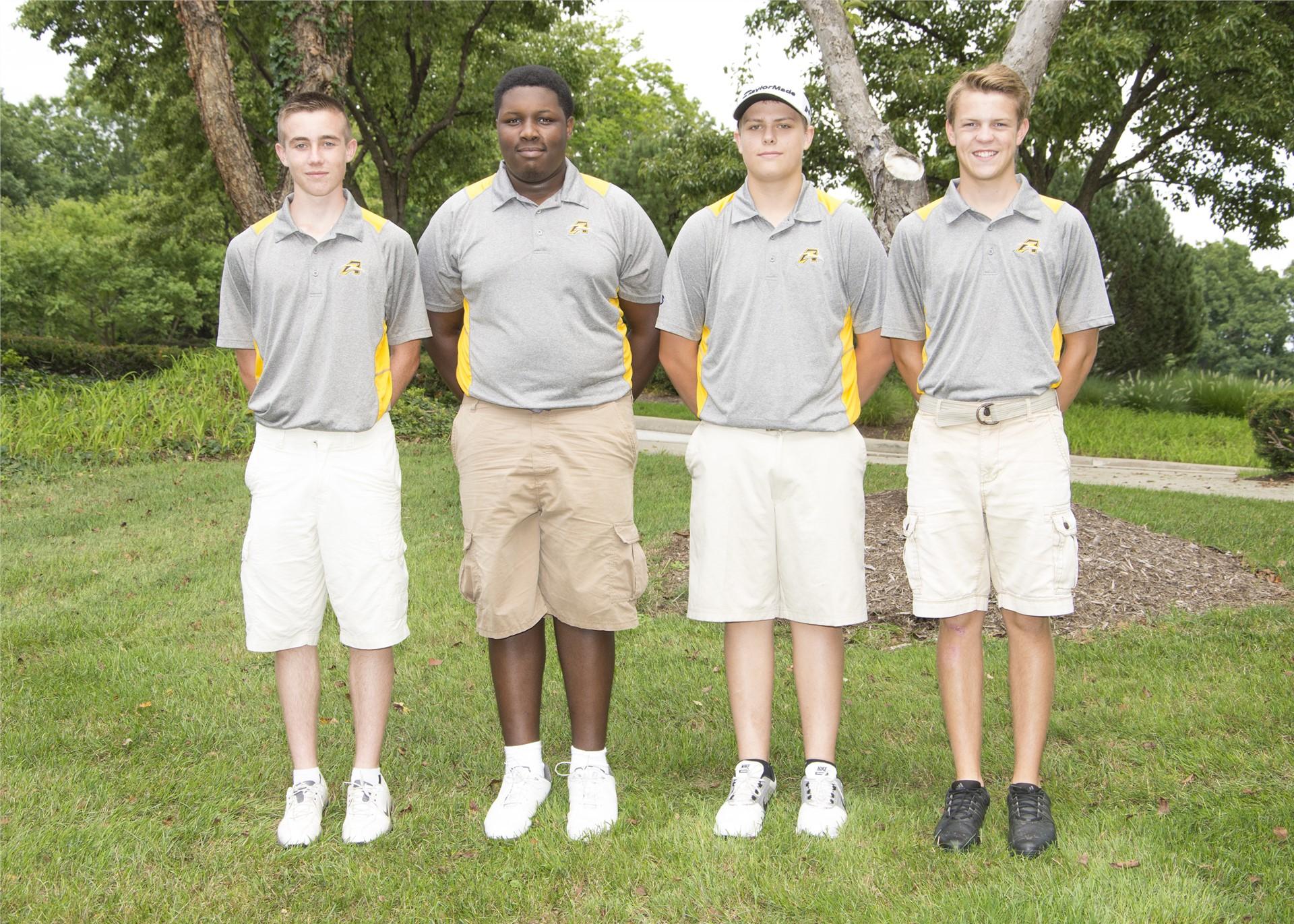2016 Varsity Boys Golf