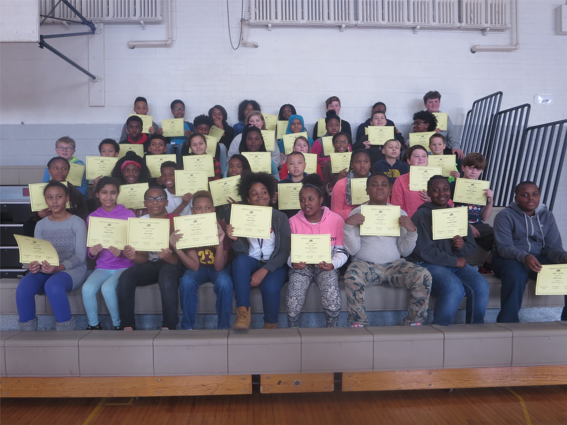 7th Grade Awards First Quarter