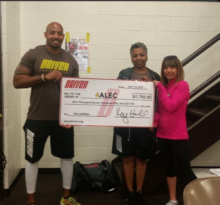 Arcs4Alec Driven Donation