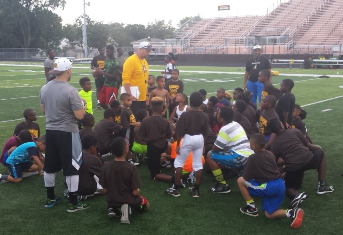 Youth Football Camp 2016