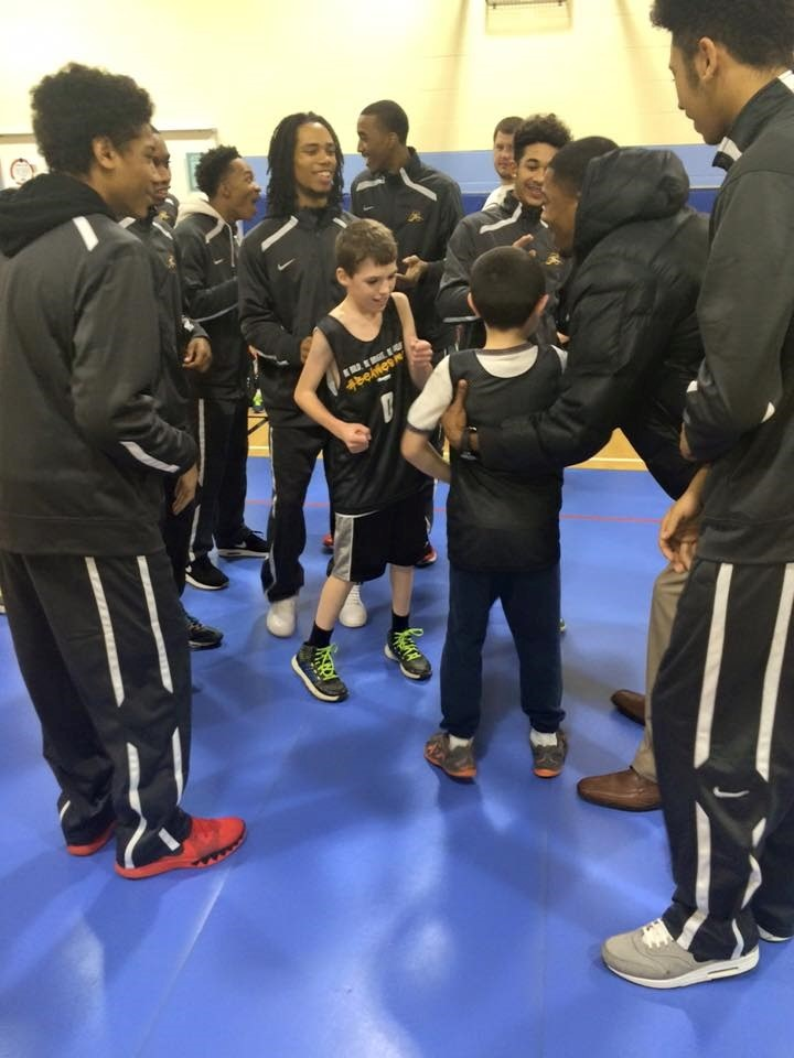 Boys Basketball Empower Clinic