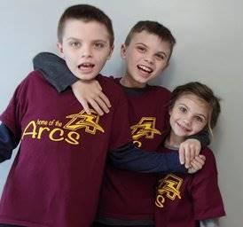 Austin, Grady, and Little Sister